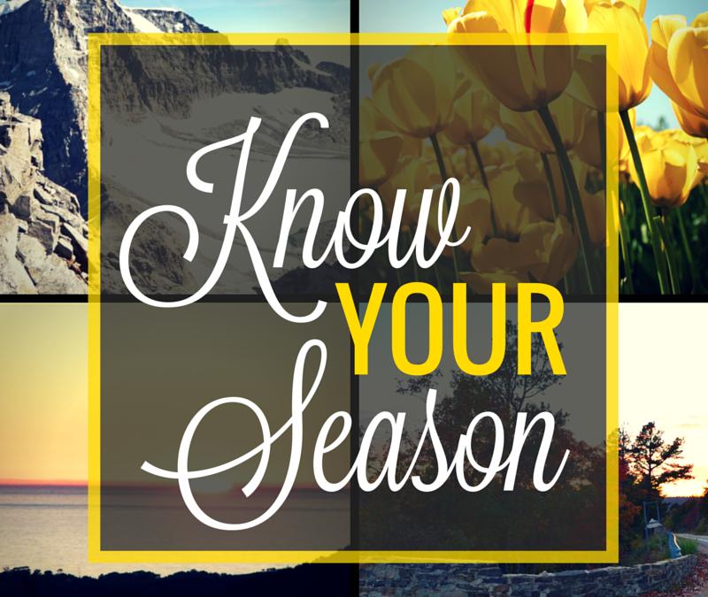Know Your Season